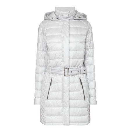Braemar Quilted Coat White
