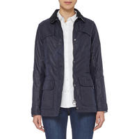 Shield Waxed Jacket Navy