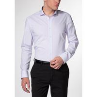 Narrow Stripe Formal Shirt Purple