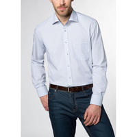 Grid pattern Formal Shirt Blue