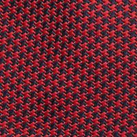 Pixel Houndstooth Tie Red