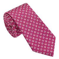 Mini Paisley Patten Tie Pink