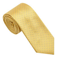 Small Dot Tie Yellow