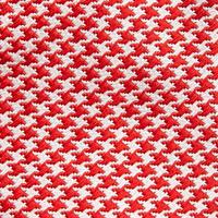 Pixel Houndstooth Pattern Tie Multicolour
