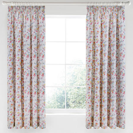 Honeysuckle Trail Curtain Grey