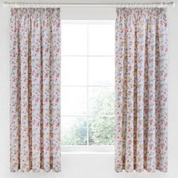 Honeysuckle Trail Curtain Grey