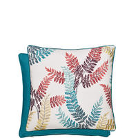 Oriental Peony Cushion Red