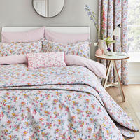 Honeysuckle Trail Duvet Set Grey