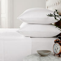 Brushed Cotton Housewife Pillowcase White
