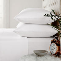 Brushed Cotton Fitted Sheet White