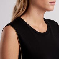 Scrambling Shift Dress Black