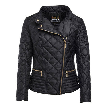 Wyvis Quilted Jacket Black