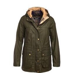 Durham Wax Jacket Green