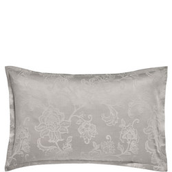Alencon Oxford Pillowcase Silver-Tone