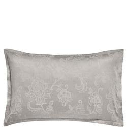 Alencon Oxford Pillowcase Silver-Tone