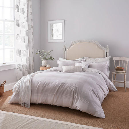 Holton Brook Duvet Set Silver-Tone