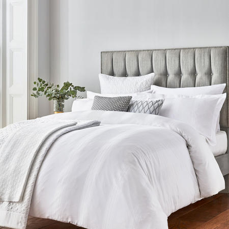 Capella Duvet Cover White