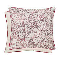 Larkspur Cushion Red