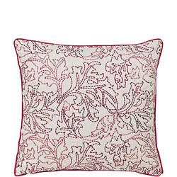 Larkspur Cushion Red
