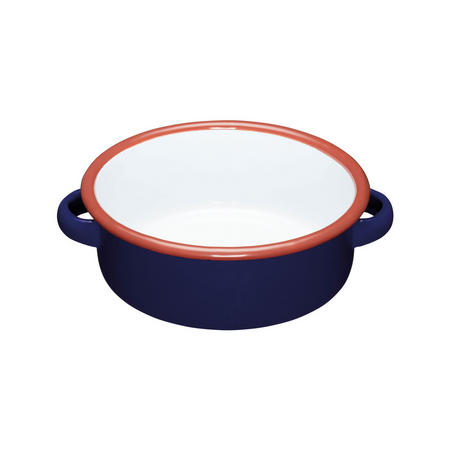 World of Flavours Enamel Serving Dish Blue