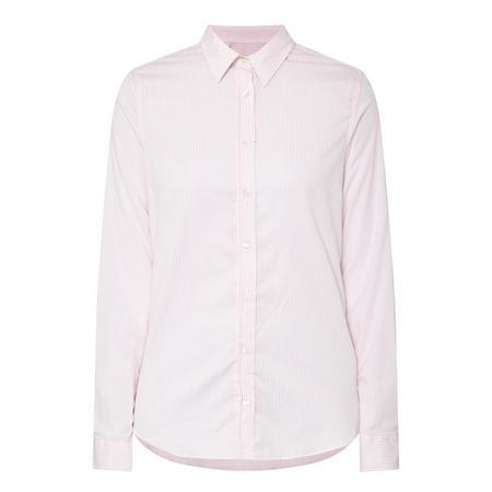 Jasper Stripe Print Shirt Pink