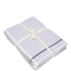 5 Pack Tea Towel Bale Purple