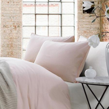 Lifestyle Plain Housewife Pillowcase Pair Orange