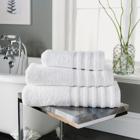 Revive Low Twist Towel White