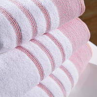 Pintuck Towel Pink