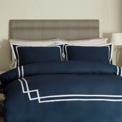 Allerton Duvet Set Blue