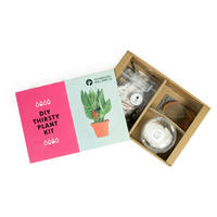 DIY Thirsty Plant Kit Multicolour
