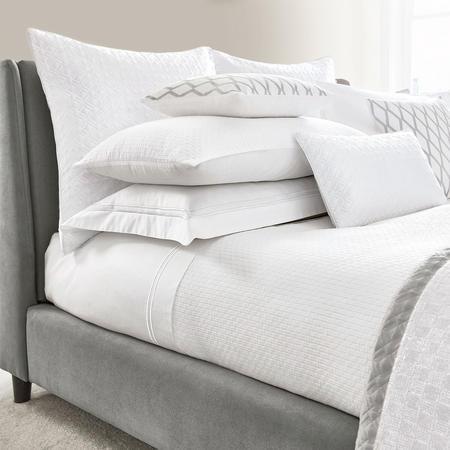 Mayas Oxford Pillowcase White