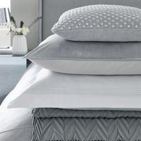 Samsara Oxford Pillowcase Silver-Tone