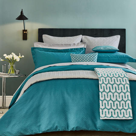 Elysian Duvet Cover Green