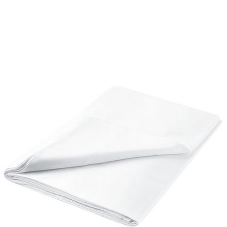 600 Thread Count White Cotton Sateen Sheets
