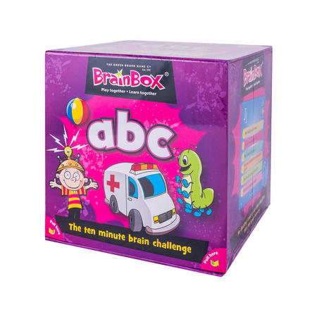 ABC Card Game Multicolour