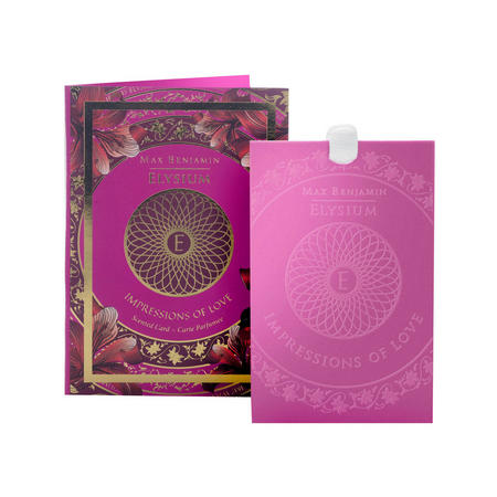 Impressions of Love Scented Card  Pink