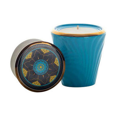 Marrakech Souk Scented Candle  Blue