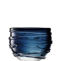 International Yarn Vase Blue