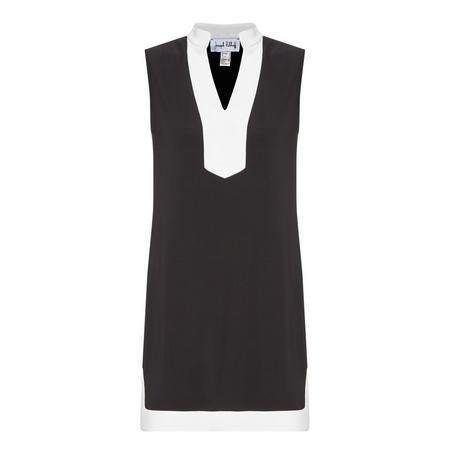 Sleeveless Panelled Dress