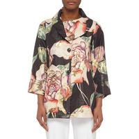 Floral Print Jacket Multicolour
