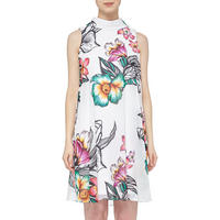 Flower Print Dress Multicolour