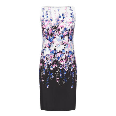 Floral Print Pencil Dress Multicolour
