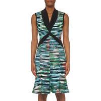 Striped Sleeveless Dress Multicolour