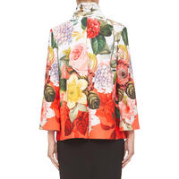 Floral Print Jacket Multicolour