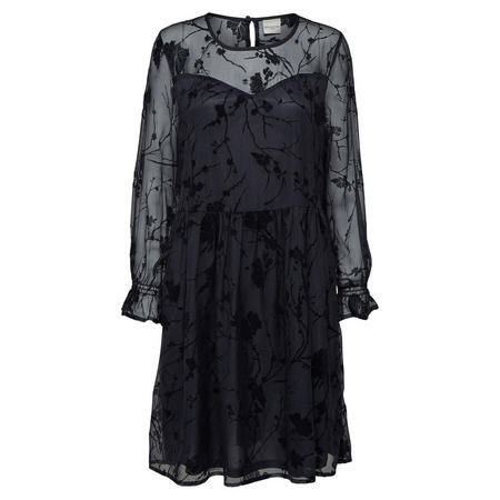 Lizet Lace Dress Navy