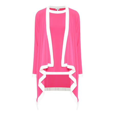 Colour-Block Jacket & Top 181130