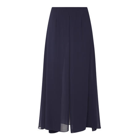 Layered Detail Trousers Navy