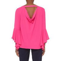 Bell Sleeve Top Pink