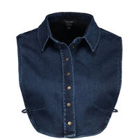 Denim Shirt Collar Blue